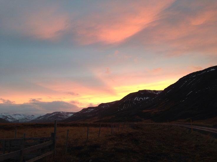#sunset #iceland
