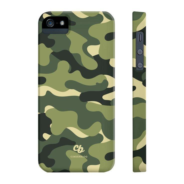 Green Camo Phone Case