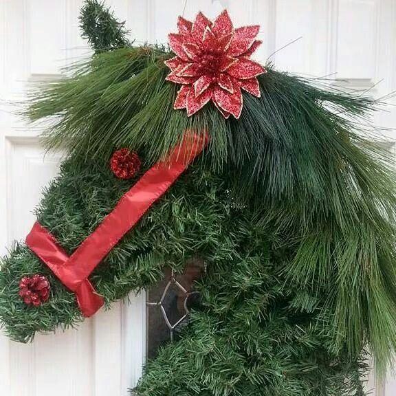 Horse lover's wreath!