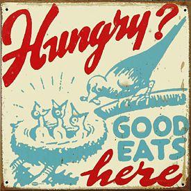 Great Vintage Diner Sign