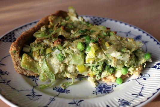 Vegansk tærte