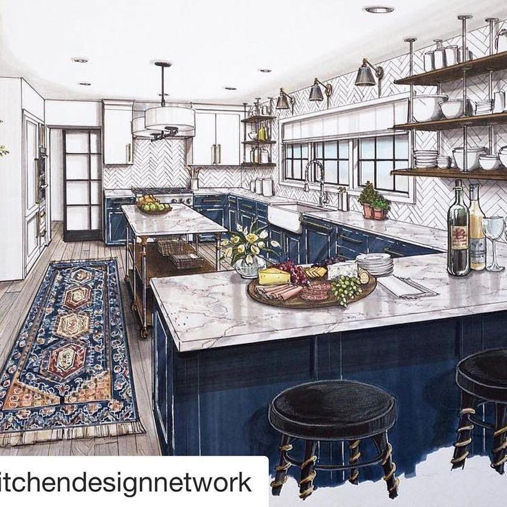 Beautiful kitchen design, Lori Gilder of Kitchen Design Network ...