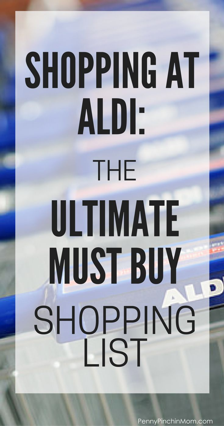 Saving money on food: The tips for shopping at Aldi and what you should buy when you shop Saving Money on Groceries | Grocery Savings Tips | Money Saving Tips | Money Management | Grocery Budget via @PennyPinchinMom