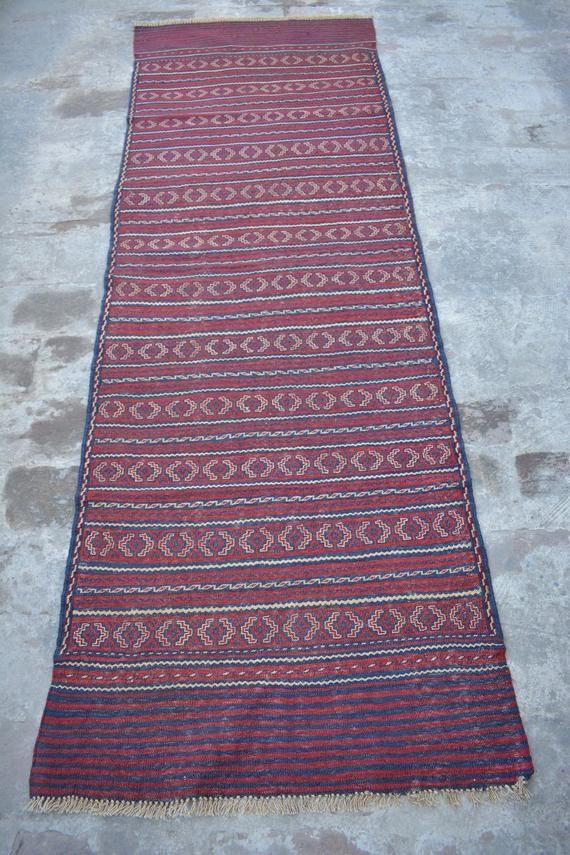 Size 2 7 X 11 Feet Afghan Runner Kelim Runner Wool Runner Kelim Runner Tribal Runner Vintage Runner Bohemian Runner M166 Handmade Design Star Rug Rugs