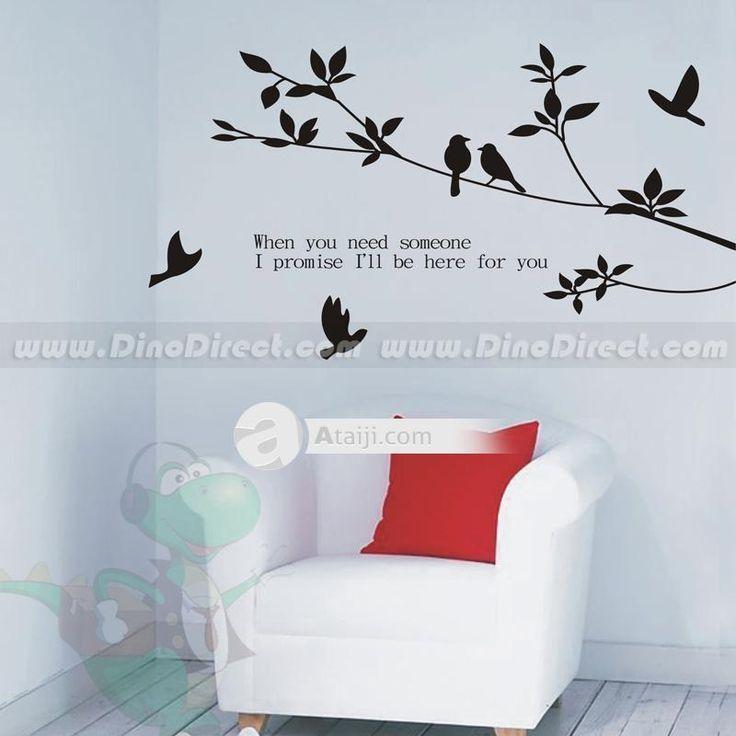 Decoraci n para el hogar amor rama de un rbol tem tico y for Decorar paredes con pintura