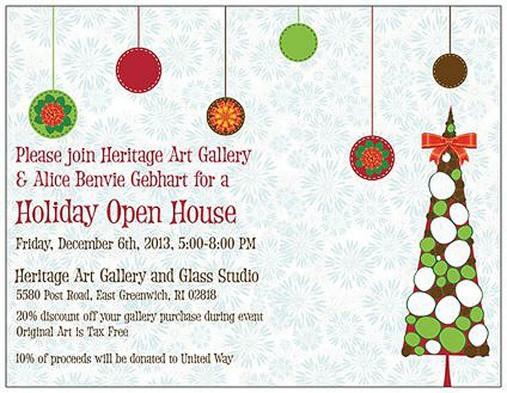 29 best Holiday Open House Invitations images on Pinterest Open - free xmas invitations