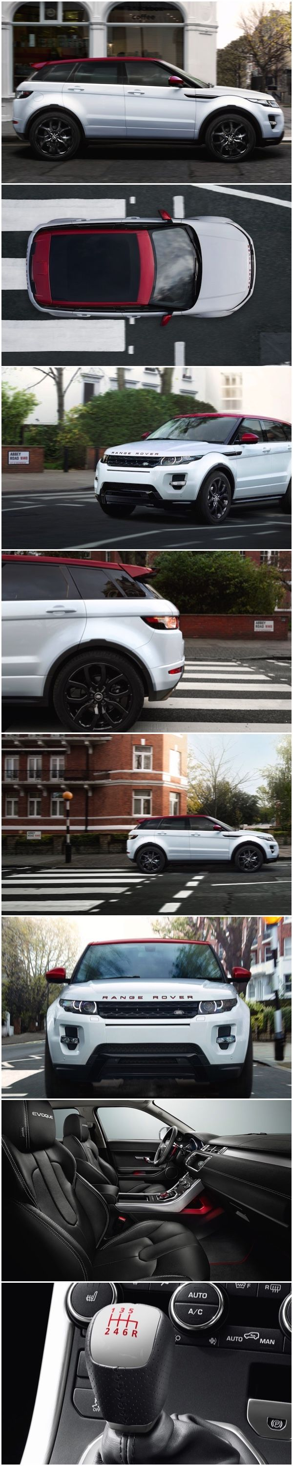 Range Rover EVOQUE NW8 Special Edition Evoque NW8 added to 'Inspired by Britain' special editions. The distinctive NW8 badging reflects a postcode in North West London, home to famous Abbey Road. Exclusivity is guaranteed with only 1,000 examples of the special edition NW8 set to be produced. #RangeRover #Evoque #LimitedEdition