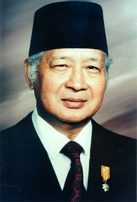 Suharto was the second president of Indonesia. During his presidency, he improved living standards, education, health, industrialisation and economic growth,