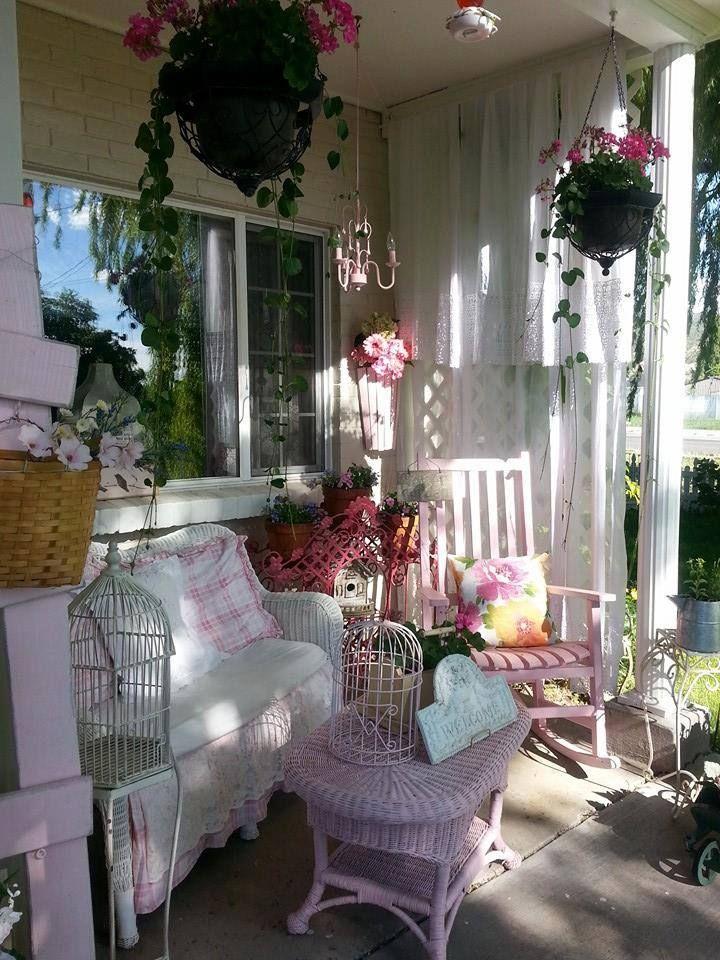Best 25 Shabby Chic Porch Ideas On Pinterest Shabby