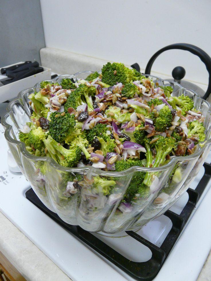 The Best Broccoli Salad: Recipe Salad, Broccolisalad, Broccoli Salad ...