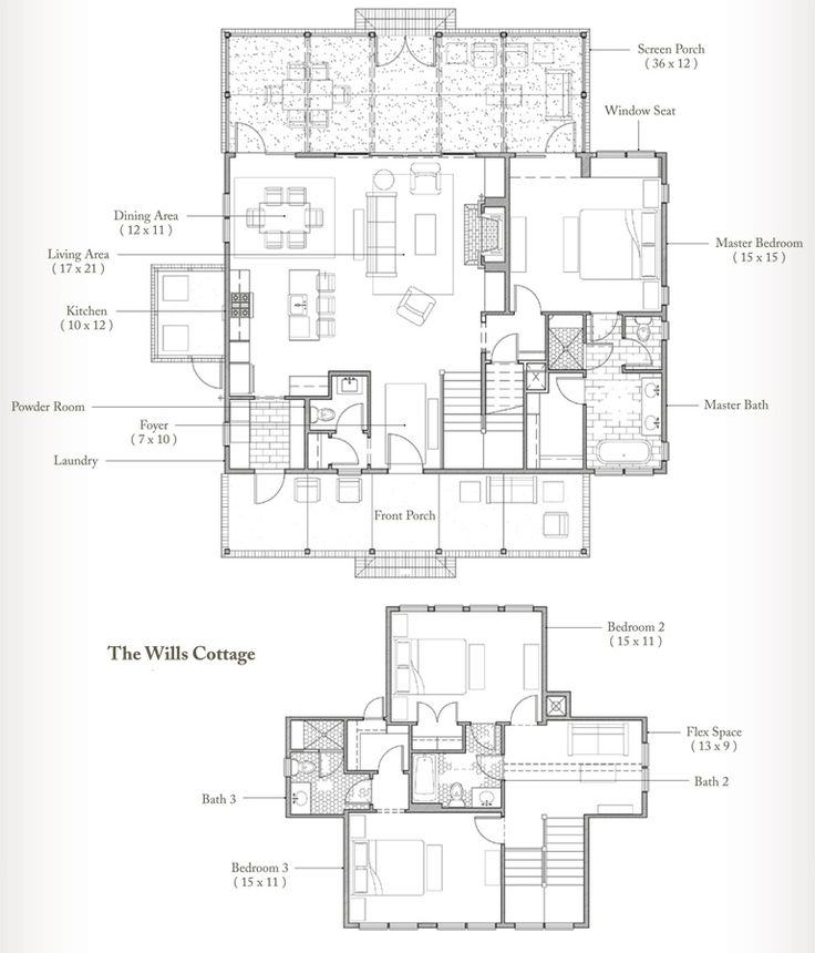 The Wills.  Love floor plan, but not wild about the master being split from the upper bedrooms... :-/. Palmetto Bluff