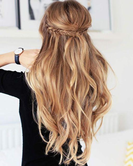 15 So hübsche Frisuren für langes Haar 15 So hübsche Frisuren für langes Haar