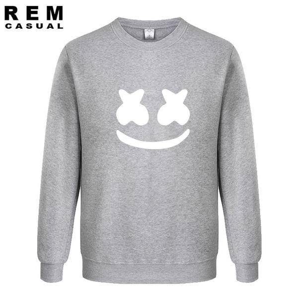 b762d2574 Marshmello Face Sweatshirt   Dopest Men's Sweatshirts on the Web ...