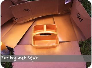 How to Spray Paint Table Caddies