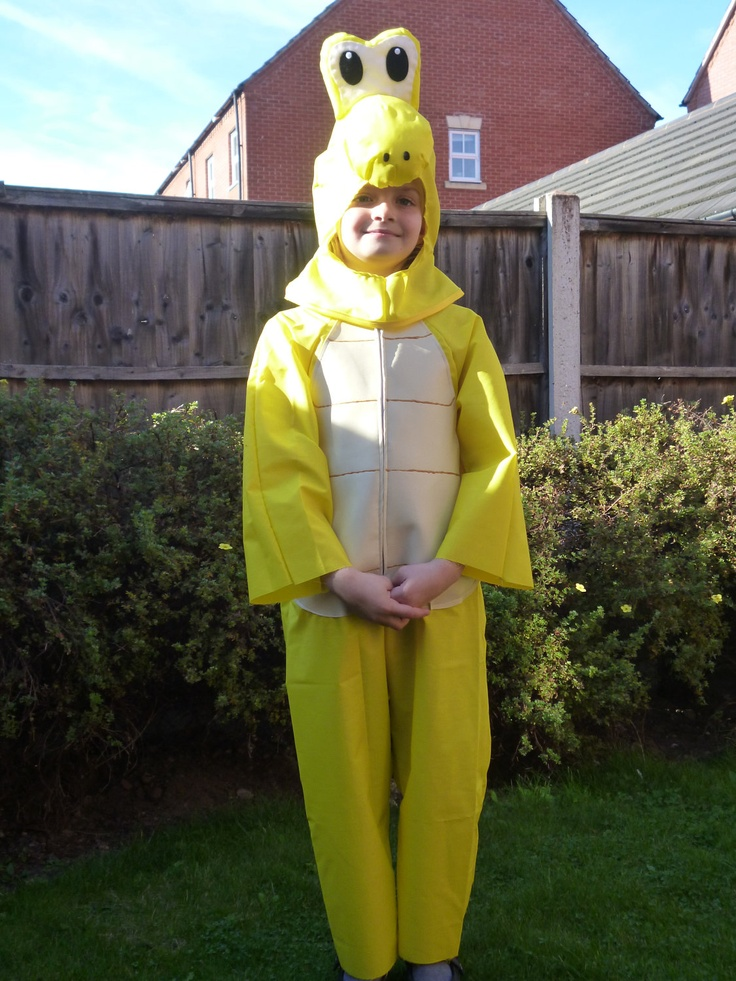 Koopa Troopa Costume From Super Mario Turtle For A Child
