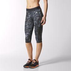 adidas - Calzas Capri de Training Infinite Series TechFit Mujer