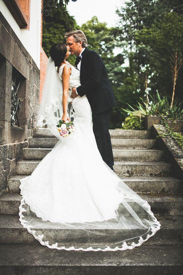 Moderne deutsch-Iranische Hochzeit mit Lebendige Fotografie