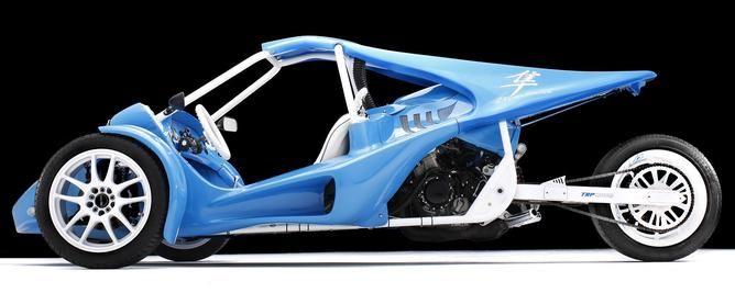 OG-1 Model Reverse Trike - TRP Motors Reverse Trike Side-by-Side 3 Wheel Custom Motorcycles and Self Build Kits
