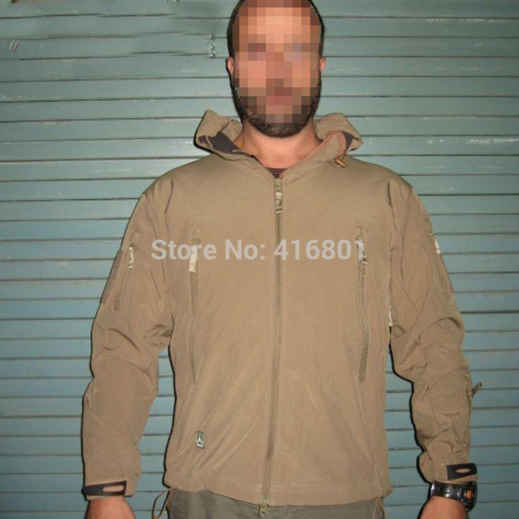Тактическая куртка тактическая рейнджер балахон мягкая оболочка непромокаемую куртку армия тактический стелс балахон охота военная одежда
