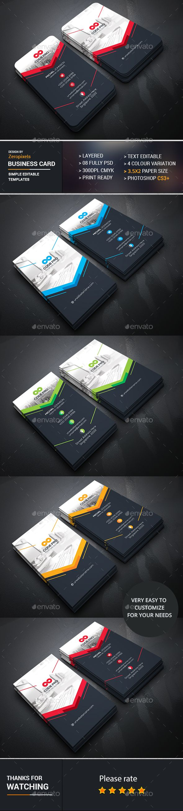 19 awesome business card template in photoshop cs3 graphics business card template photoshop cs3 choice image card design reheart Choice Image