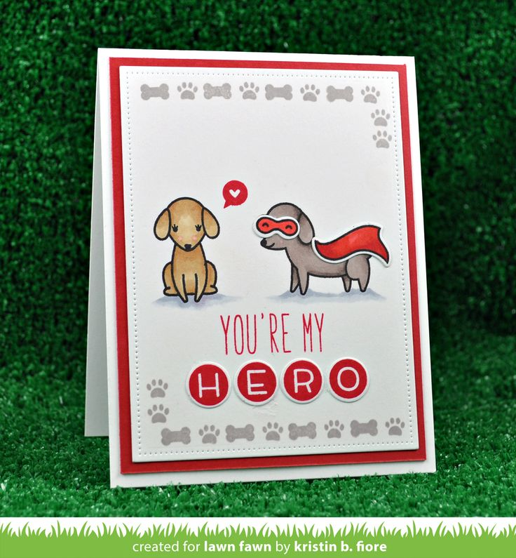 the Lawn Fawn blog: A Sweet Happy Howloween Card by Kristin