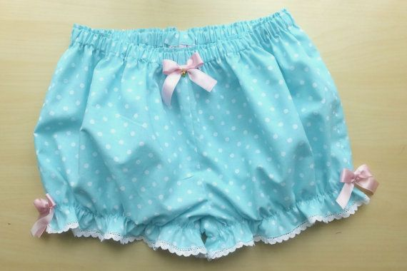 Made to order Mint turquoise cotton cute by MadameMuffinStore