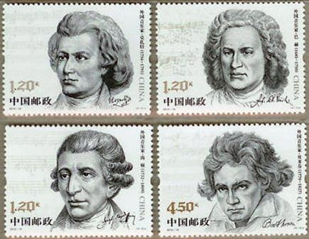 an introduction to the music of haydn mozart beethoven and bach The classical period refers to an era that started around 1750 and includes  composers like haydn, mozart and beethoven also active in this period were.