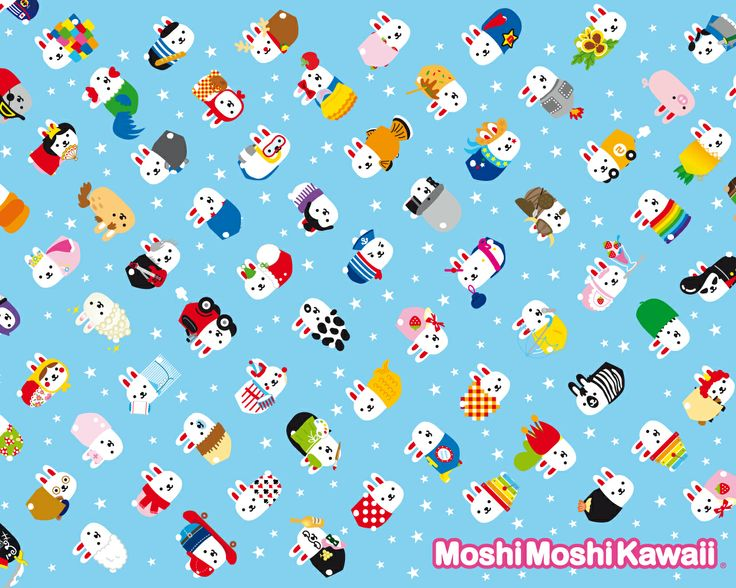 Moshimoshikawaii!!!! I have the 'find the moshimoshikawaii' books!!!!!!