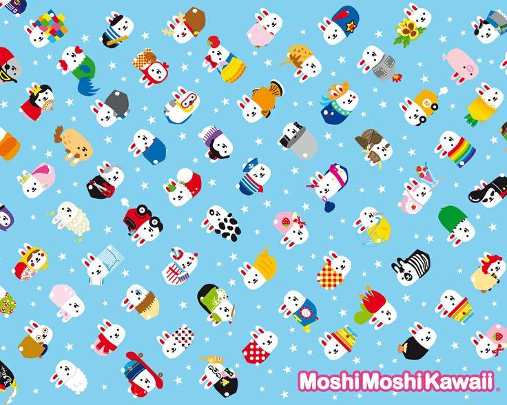 Moshimoshikawaii!!!! I have the 'find the moshimoshikawaii' books!!!!!!