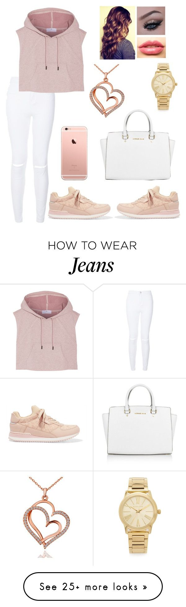 """""""Went to the Dunk contest in this"""" by blessed-with-beauty-and-rage on Polyvore featuring adidas, Dolce&Gabbana, Michael Kors, LASplash, women's clothing, women, female, woman, misses and juniors"""