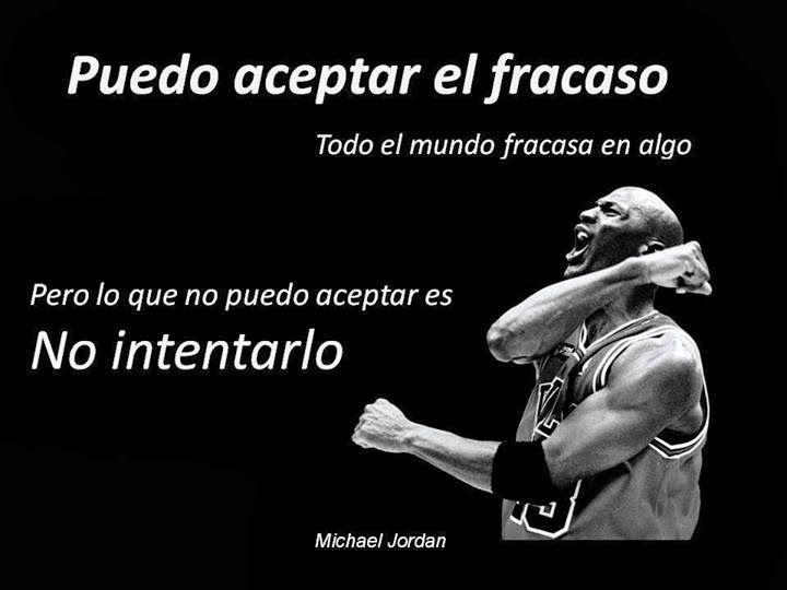 Frases de Michael jordan sobre el fracaso