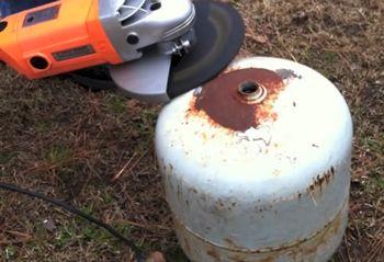 Diy Propane Tank Wood Stove In 2019 Gas Bottle Wood