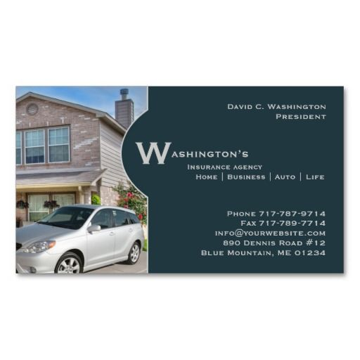 1000+ images about Auto Insurance Business Cards on ...