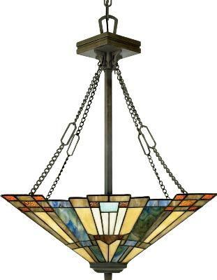 Perfect for the dining room! Craftsman style lighting