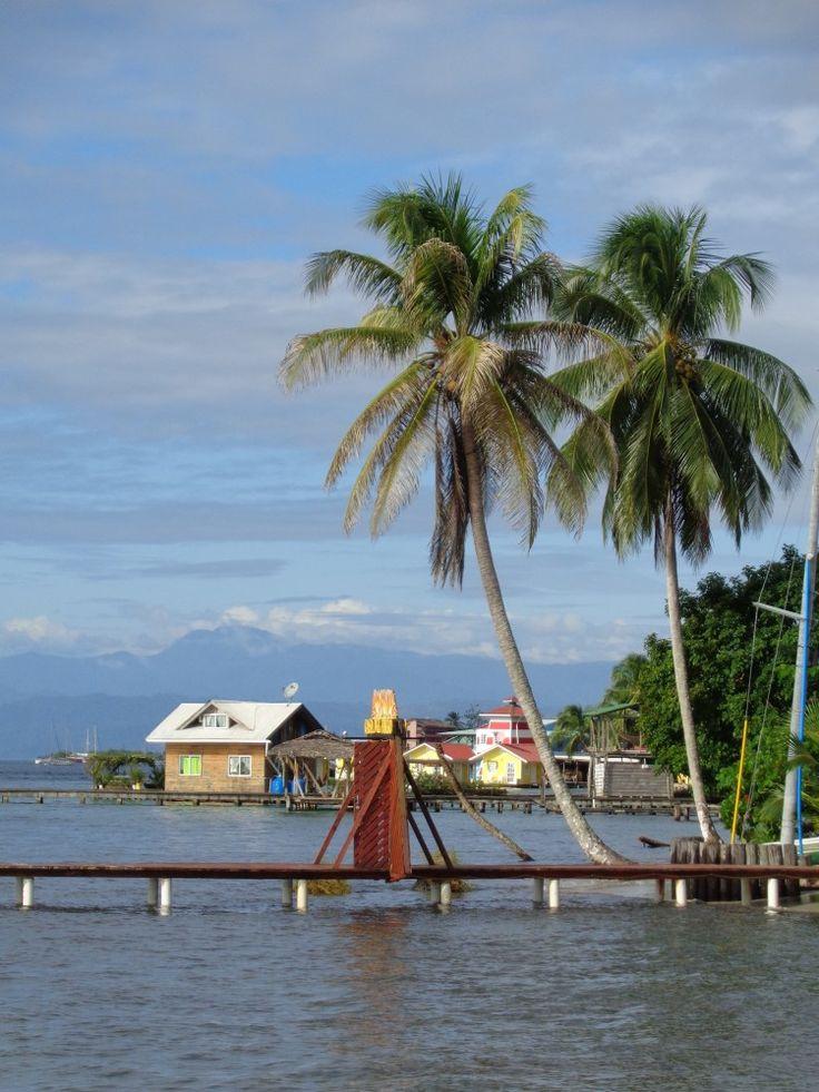 Bocas del Toro Panama skyline