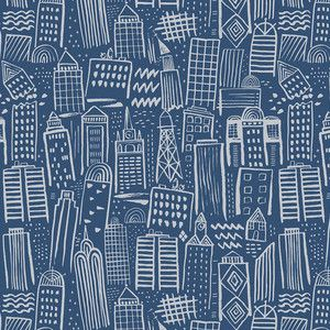 Stacy Peterson - Monsters vs Robots - Metropolis in Navy