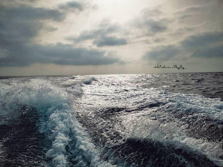 تصويري غدار اعرفك يابحر ضحكة امواجك تسل السيوف وتطعن بالظهر عبدالرحمن الدغيلبي السعودية الطائف الورد الطائفي Neom Photography Outdoor Water