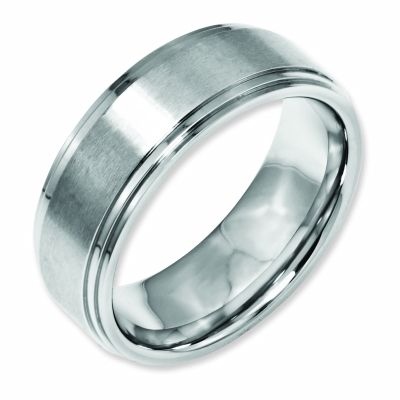 This Fashionable Wedding Band Is Made From Stainless Steel Ring A Great Way