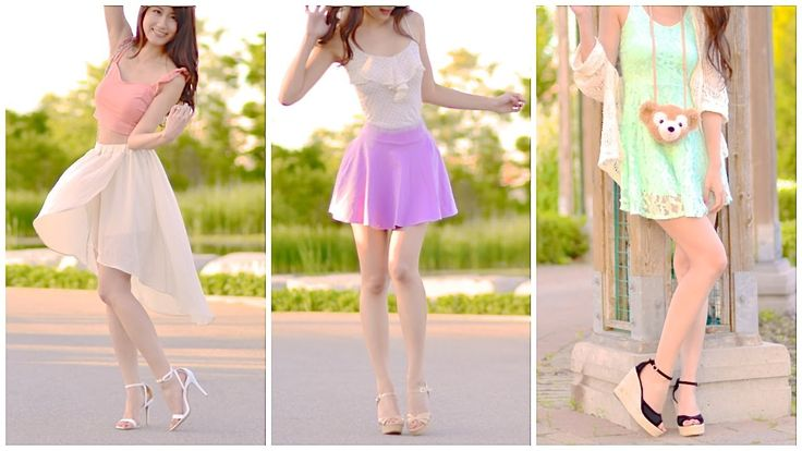 LOOKBOOK - Pastel Outfit Styles and Ideas