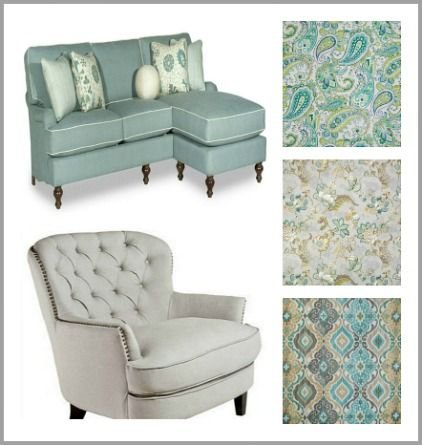 How to choose drapery fabric from http://www.jenniferdecorates.com