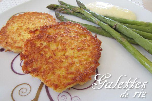 Recette originale de galettes de riz de Séverine ...  http://www.lafaimdesbananes.com/galettes-de-riz.html