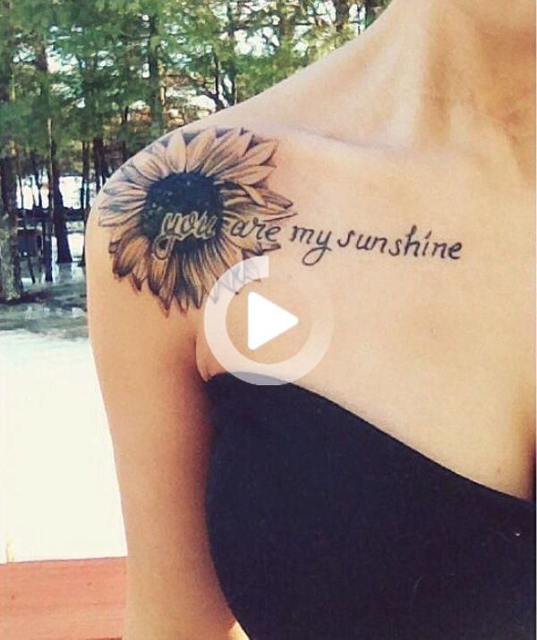 35 Cute Clavicle Tattoos For Women Sunflower Tattoo Shoulder Sunflower Tattoos Sunflower Tattoo