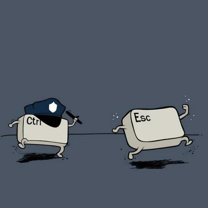a 'key' suspect ........Geek Stuff, Del Control, Esc Ctrl, Nice Stuff, Funny Quotes, Keys Suspects, Funny Stuff, Escapa¡¡¡¡ Del, Ctrl Esc