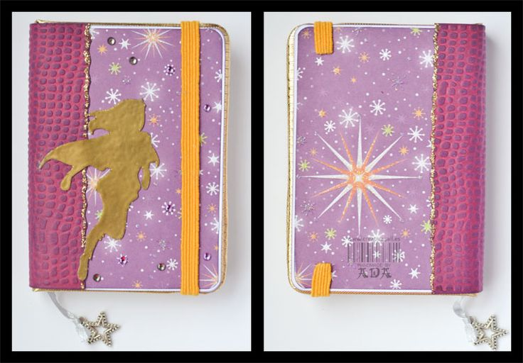 Creativa4all » SCRAPBOOKING: LIBRETAS EN LOTE Notebook, mini moleskine, violet, purple, superwoman, galaxy, space