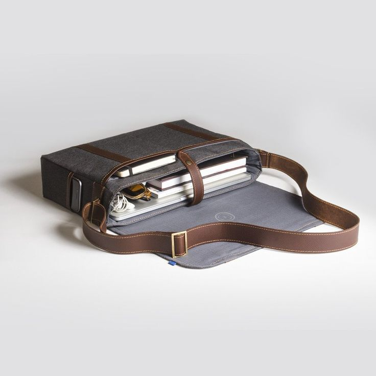 The Forge Messenger in slate by Mother Co. Made in Canada  - $149