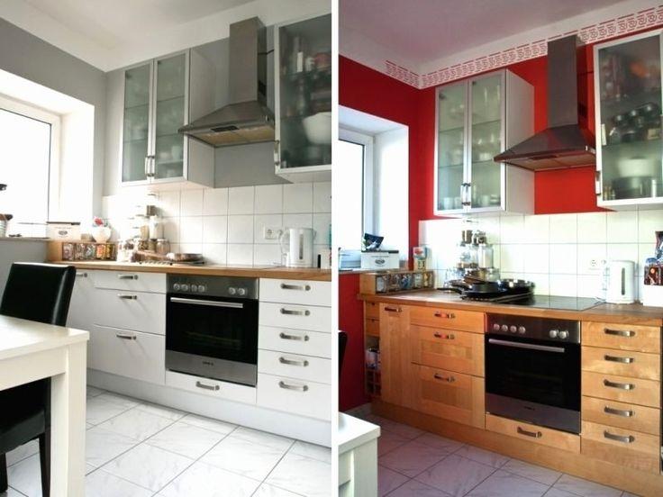 luxus schrank bekleben folie   küche neu streichen, küche