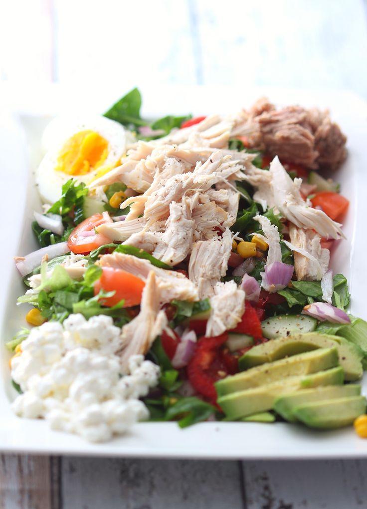 Proteinrik salat