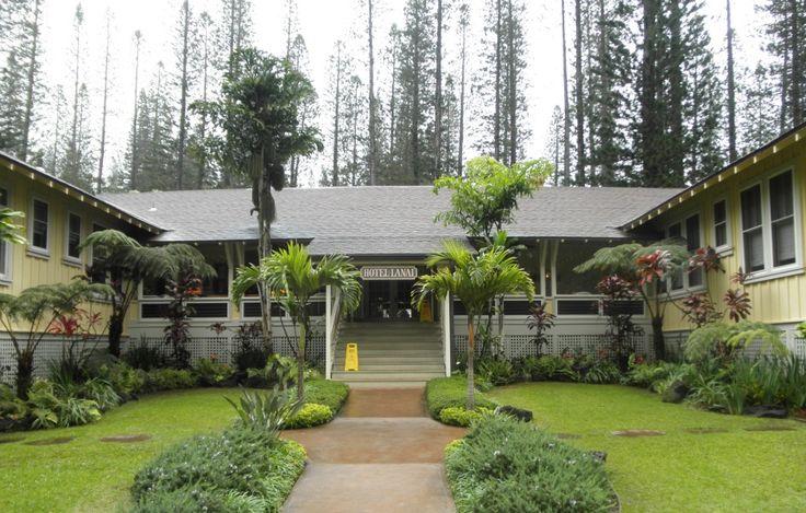 Stay at the historic Hotel Lanai