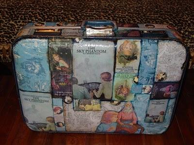 Neiti Etsivä matkalaukku