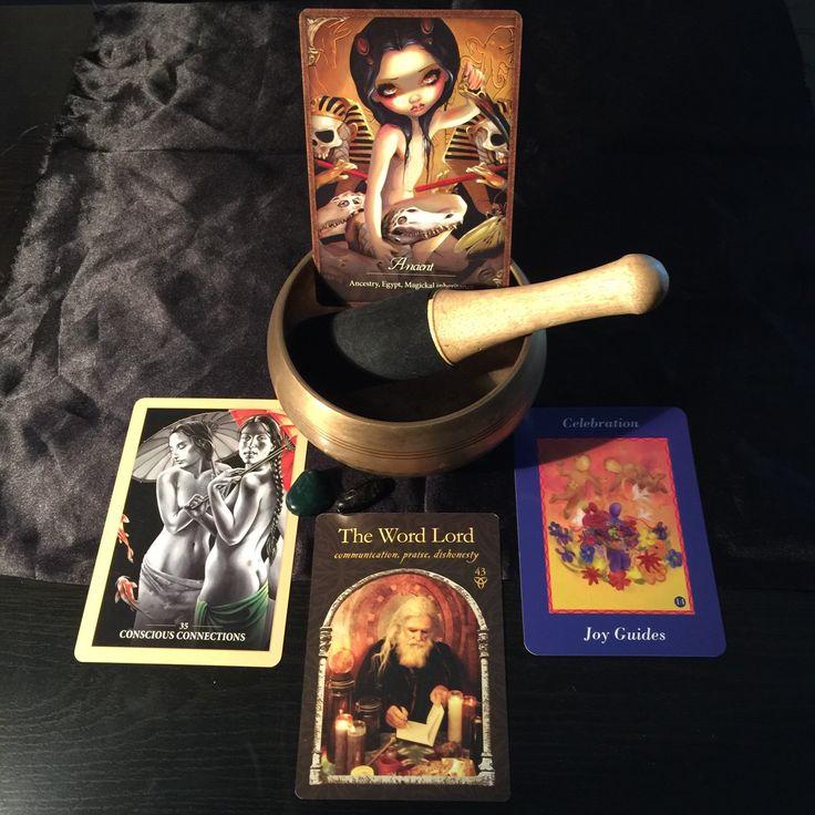 Four card oracle.
